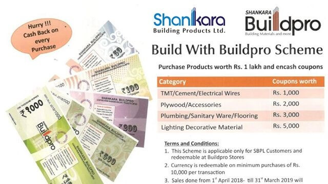 Shankara is India's leading construction material retailers